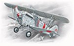 Ki1011 Type 95 Japanese Army BiPlane Fighter -- Plastic Model Airplane Kit -- 1/72 Scale -- #72311