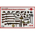 WWI British Infantry Weapon/Equipment -- Plastic Model Military Diorama -- 1/35 Scale -- #35683