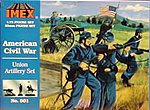 Union Artillery Civil War Figure Set -- Plastic Model Military Figure -- 1/72 Scale -- #501