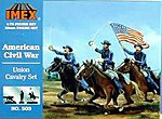 Union Cavalry -- Plastic Model Military Figure -- 1/72 Scale -- #503
