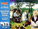 American Pioneers -- Plastic Model Diorama All Scale -- 1/72 Scale -- #516