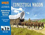 Conestoga Wagon -- Western Plastic Model Kit -- 1/72 Scale -- #518