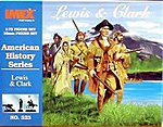 Lewis and Clark Expedition Set -- Western Plastic Model Kit -- 1/72 Scale -- #523