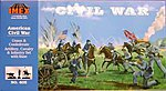 Civil War Complete Set -- Plastic Model Military Diorama -- 1/72 Scale -- #605