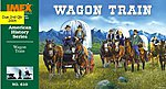 Wagon Train Figure Set -- Plastic Model Western Kit -- 1/72 Scale -- #610