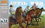 Confederate Cavalry -- Plastic Model Military Figure -- 1/32 Scale -- #704