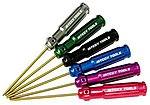 Ti-Nitride Wrench Set Hex (6)