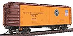 R-40-25 Refrigerator Car Pacific Fruit Express -- HO Scale Model Train Freight Car -- #47420