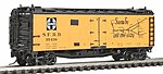 40' Steel Ice Reefer Santa Fe The Chief West -- N Scale Model Train Freight Car -- #66116