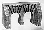Cross-Over Bridge/Tunnel - HO-Scale