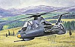RAH-66 Commanche -- Plastic Model Helicopter Kit -- 1/72 Scale -- #0058s