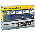 Classic Canvas Trailer -- Plastic Model Truck Kit -- 1/24 Scale -- #3908s