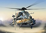 A129 Mangusta -- Plastic Model Helicopter Kit -- 1/72 Scale -- #550006