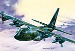 C-130 Hercules -- Plastic Model Airplane Kit -- 1/72 Scale -- #550015