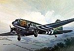 C-47 Skytrain -- Plastic Model Airplane Kit -- 1/72 Scale -- #550127