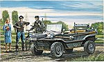 Schwimmwagen Amphibious Light WWII -- Plastic Model Military Vehicle Kit -- 1/35 Scale -- #550313