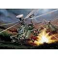 AH-64D Longbow Apache Helicopter -- Plastic Model Helicopter Kit -- 1/48 Scale -- #550863