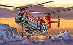 H-21 Flying Banana -- Plastic Model Helicopter Kit -- 1/72 Scale -- #551315