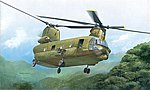 ACH-47A Chinook -- Plastic Model Helicopter Kit -- 1/48 Scale -- #552647