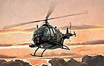 BO105/PAH1 -- Plastic Model Helicopter Kit -- 1/48 Scale -- #552742