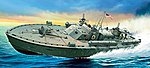 PT-109 Motor Torpedo Boat -- Plastic Model Military Ship Kit -- 1/35 Scale -- #555613