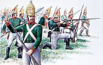 Russian Grenadiers -- Plastic Model Military Figure Kit -- 1/72 Scale -- #556006