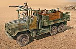 US Armored Gun Truck -- Plastic Model Military Vehicle Kit -- 1/35 Scale -- #556503
