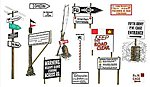 WWII Road Signs -- Plastic Model Military Diorama -- 1/35 Scale -- #556527