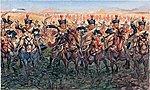 1815 British Light Cavalry -- Plastic Model Military Figure Kit -- 1/32 Scale -- #556885