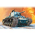 KV1 M41 Tank -- Plastic Model Military Vehicle Kit -- 1/72 Scale -- #557049