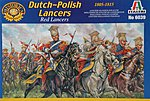 Napoleonic War Polish Lancers -- Plastic Model Military Figure Kit -- 1/72 Scale -- #6039