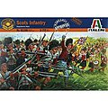 Scottish Infantry -- Plastic Model Military Figure Kit -- 1/72 Scale -- #6136s