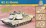 M1 A1 Abrams Tank Super Kit -- Plastic Model Military Vehicle Kit -- 1/35 Scale -- #6438