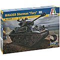 M4A3E8 Sherman Fury -- Plastic Model Military Vehicle Kit -- 1/35 Scale -- #6529s