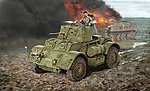 Staghound MK.I Armored Car -- Plastic Model Military Vehicle Kit -- 1/35 Scale -- #6552s