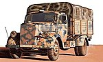 WWII German Kfz.305 3-Ton Truck -- Plastic Model Military Vehicle Kit -- 1/48 Scale -- #6606s