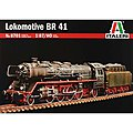 1936 Lokomotive BR41 -- Plastic Model Locomotive Kit -- 1/87 Scale -- #8701s