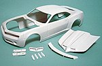 2008 TA Firebird Concept Car Body for an AMT -- Resin Model Vehicle Accessory -- 1/25 -- #nb172