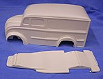 1948 Dico Shopped Delivery Slammer Kit -- Resin Model Vehicle Accessory -- 1/25 Scale -- #nb277