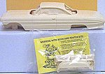 61 Olds Super 88 2-Door Hard Top Conversion Kit -- Plastic Model Vehicle Accessory -- 1/25 -- #nb42