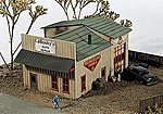 LaBosky's Auto Repair Kit -- Model Railroad Building -- N Scale -- #140