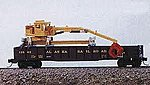 Maintenance of Way Gondola Crane Metal Kit -- Model Railroad Vehicle -- N Scale -- #2081