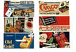 1930-1960's Vintage Tobacco Signs -- Model Railroad Billboard -- HO Scale -- #213