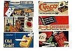 1930-1960's Vintage Tobacco Signs -- Model Railroad Billboard -- HO Scale -- #213