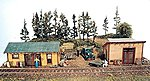 Trackside Jamboree -- Model Train Building -- HO Scale -- #231