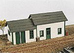 East Junction Section House Kit -- Model Railroad Building -- N Scale -- #260