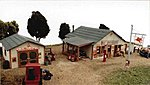 Saw Pit Store -- Model Railroad Building -- HO Scale -- #321