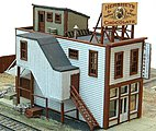 D.C. Cochran Confectionery -- Model Railroad Building -- N Scale -- #470