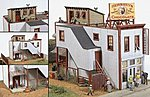D.C. Cochran Confectionery -- Model Railroad Building -- HO Scale -- #471