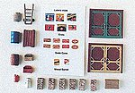Loading Dock Detail Set -- Model Railroad Building Accessory -- HO Scale -- #506